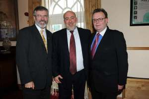 Meeting with Sinn Fein