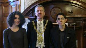 Lord Mayor, Yedida and Paz