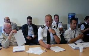 Police visit