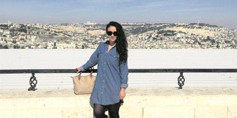 Rosa Doherty in Jerusalem