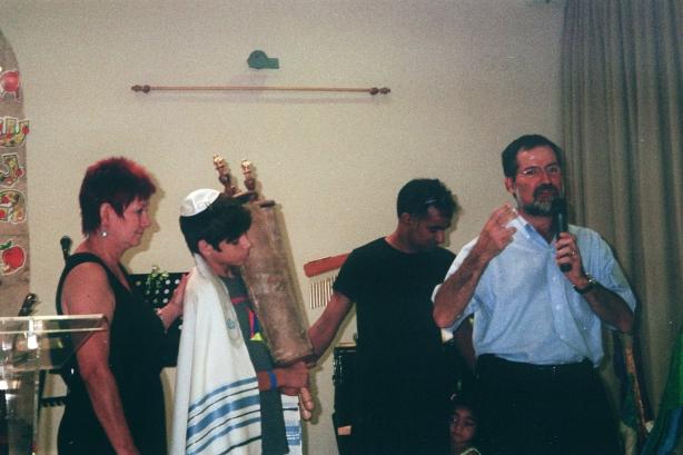 Colin at bar mitzvah