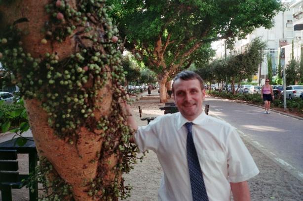 Colin in Tel Aviv