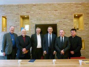 Amb Taub and churchleaders