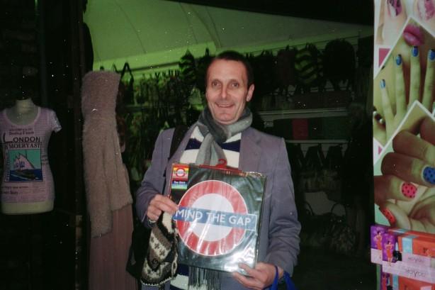 Colin Nevin in London