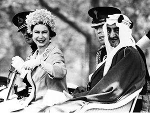 kING fAISAL lONDON 1967