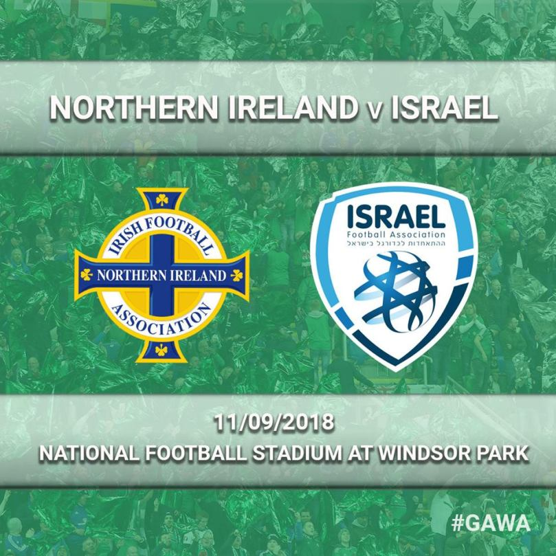 northern ireland israel friendly september 2018