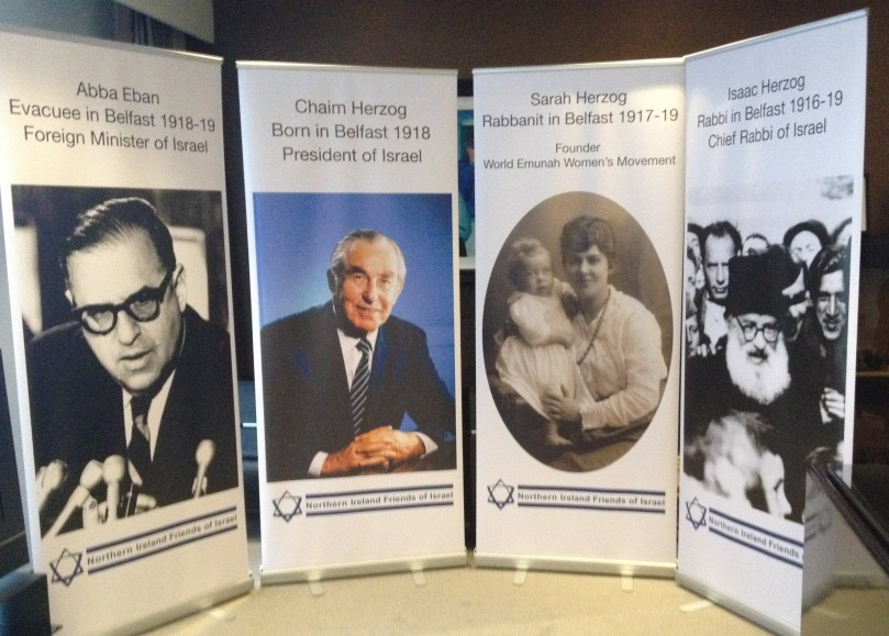 Herzog centenary banners cropped