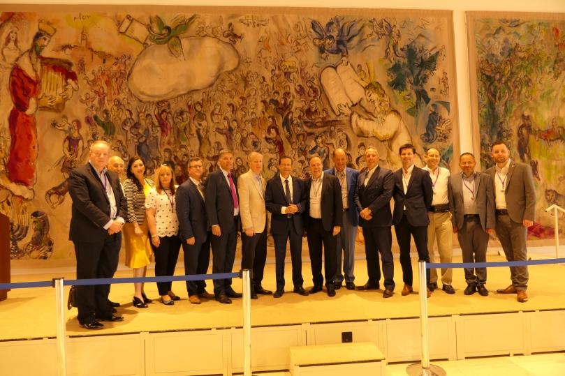 DUP Delegation Israel Knesset tour