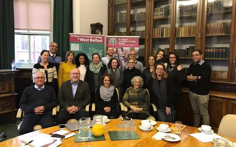 Israeli educators in Belfast 2019