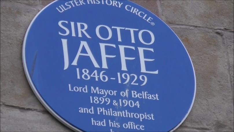 blue plaque otto jaffe