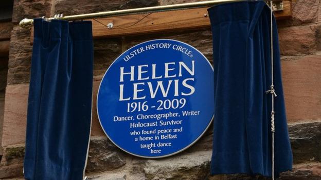 Helen Lewis blue plaque
